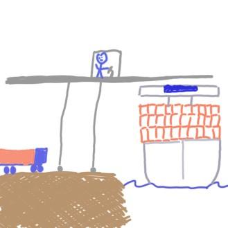 Symbolbild einer Fracht- und Logistikszenerie