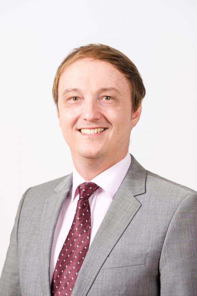 Portrait von Diplombetriebswirt Danny Voß